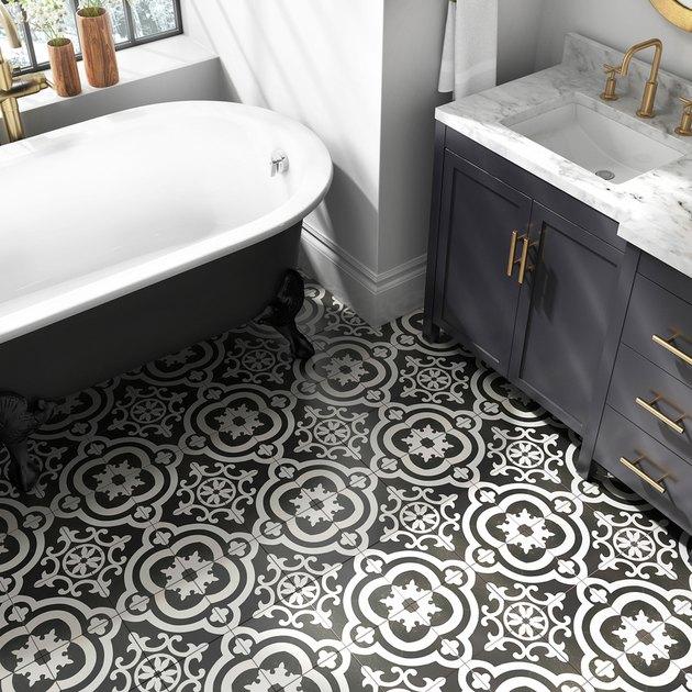 Cementina tile manufactured by Della Torre