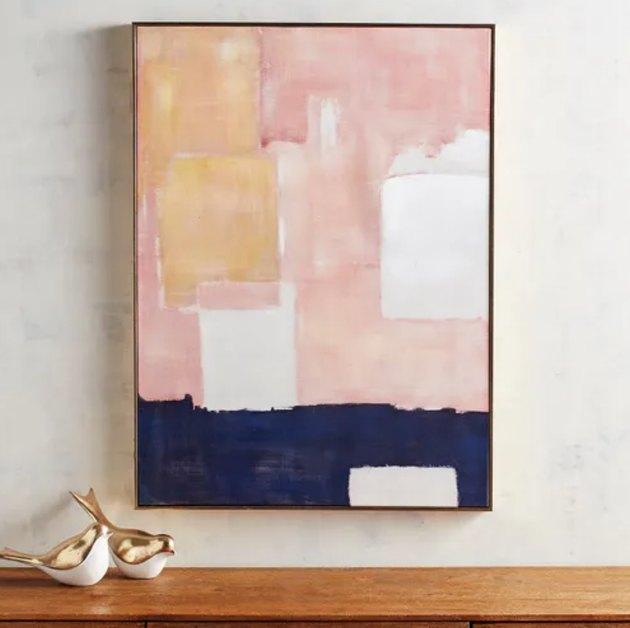 abstract wall painting