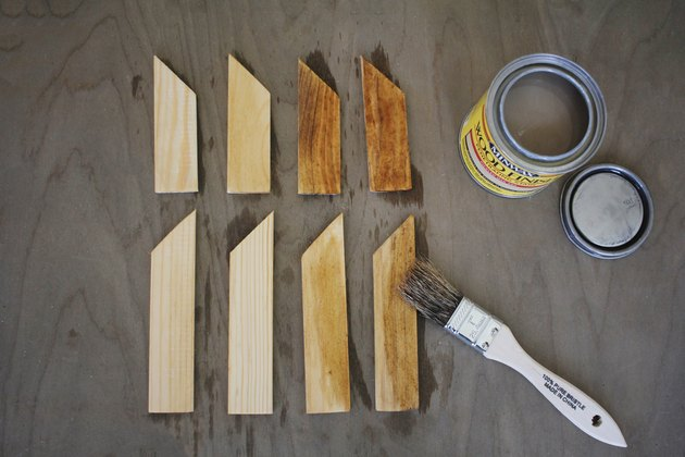Staining paint sticks