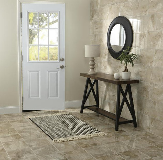Ceramic tile manufactured by Mohawk.