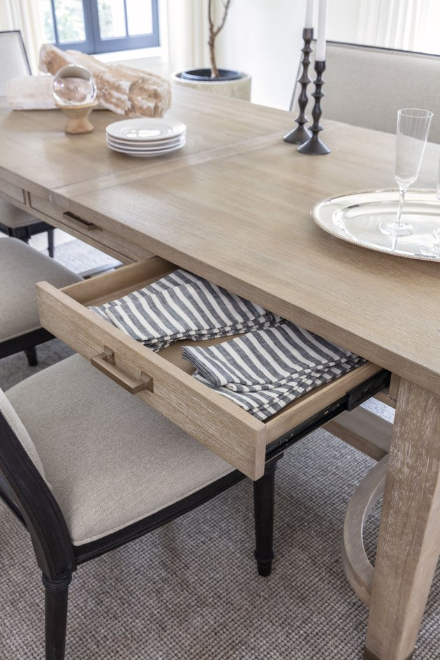 dining table with storage by Nate Berkus and Jeremiah Brent for Living Spaces