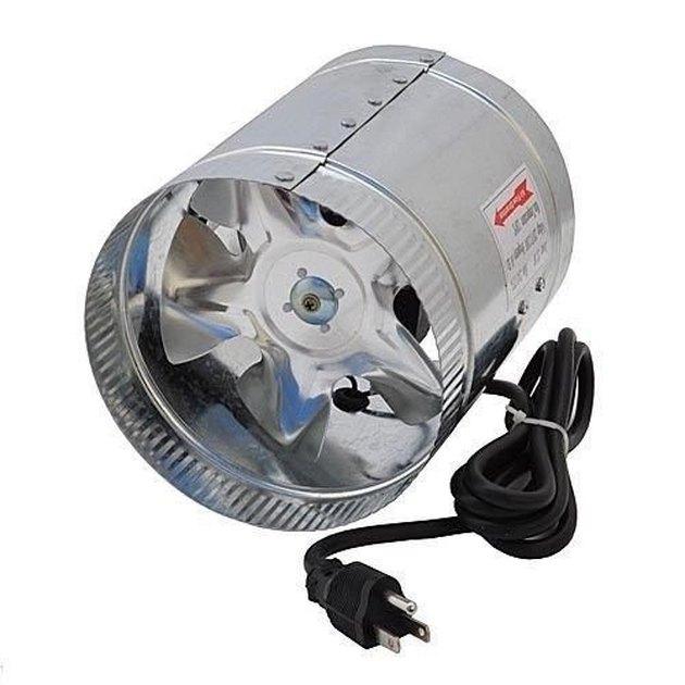 Line booster fan.