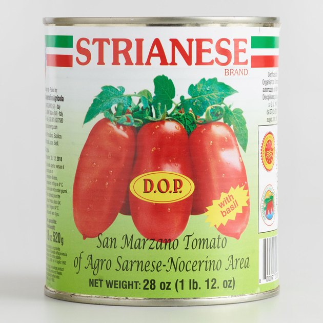 Strianese San Marzano canned tomatoes