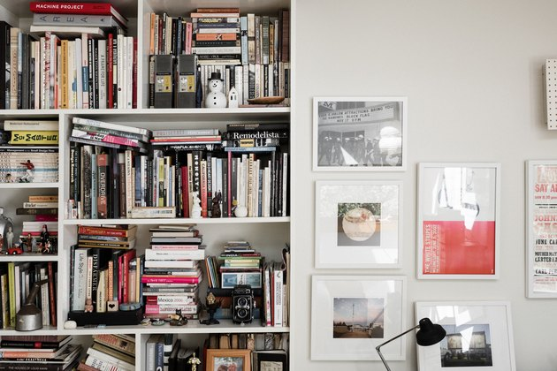 Brian Lane and Lucy Gonzalez Home Tour - Bookshelf