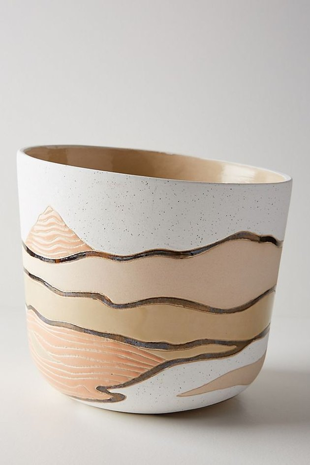 Layered Landscape Pot
