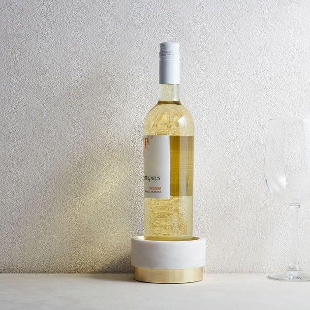 marble wine coaster