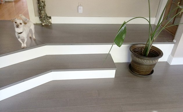 Vintage Moonlight bamboo flooring manufactured by Cali Bamboo