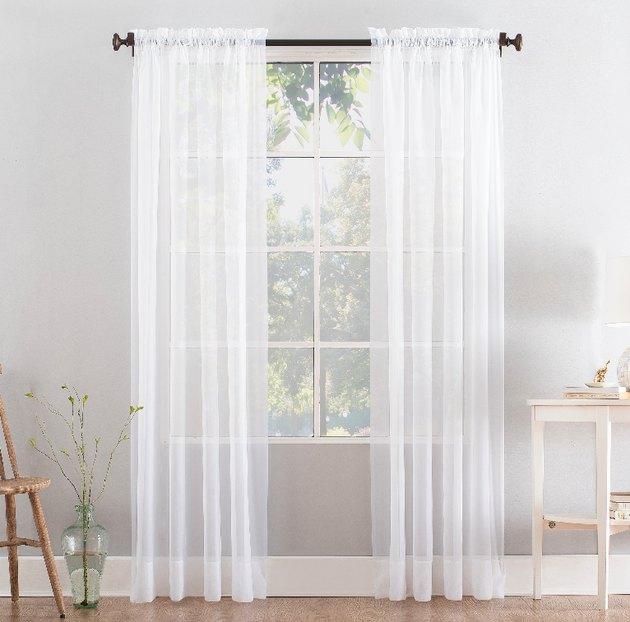 walmart white curtains