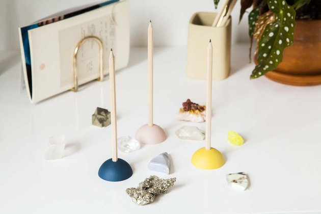 dome-shaped eraser pencil stand from Areaware