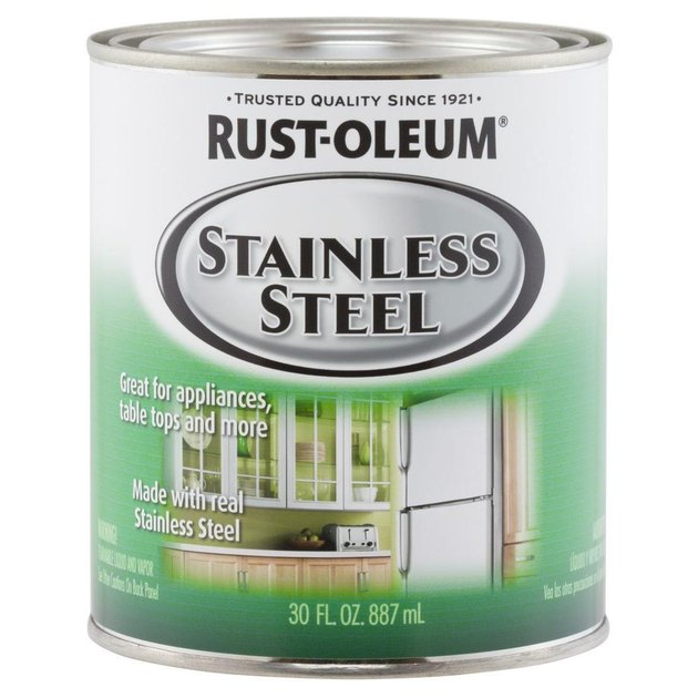 Rust-oleum stainless steel paint