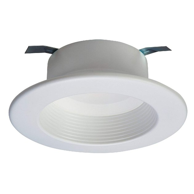 Recessed light fixture.