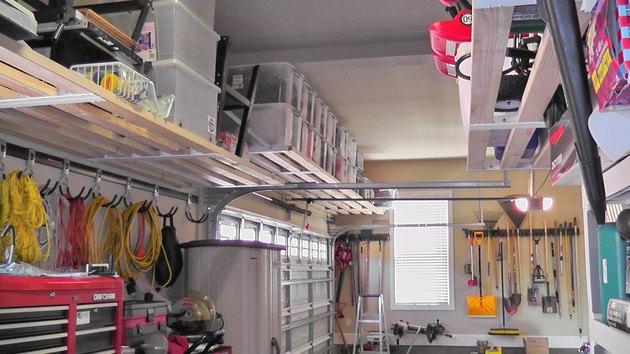 Whole garage.
