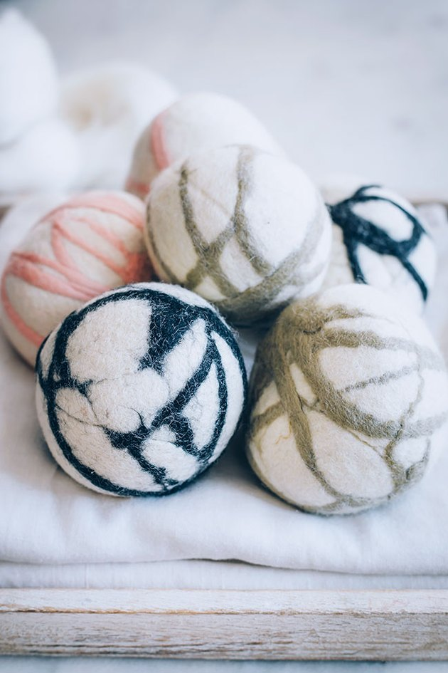 How To Make Felted Dryer Balls