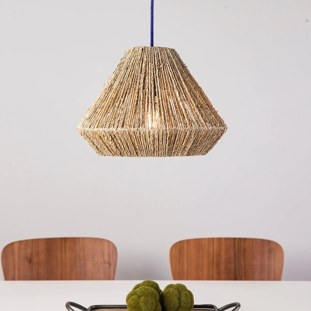 The Curated Nomad Westlake Seagrass 15-inch Pendant Shade, $41.64