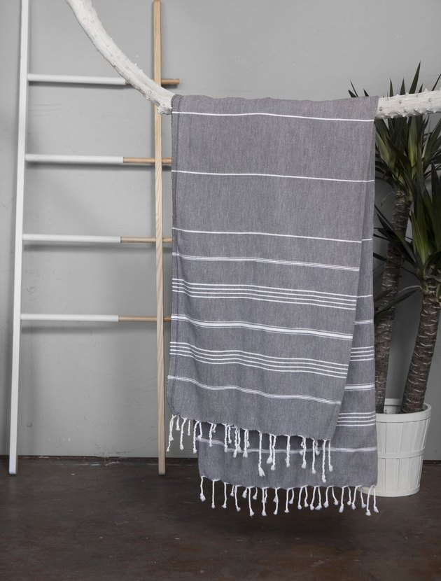 gray towel