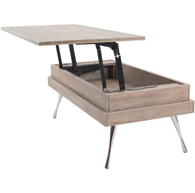 AllModern cornelia lift top coffee table