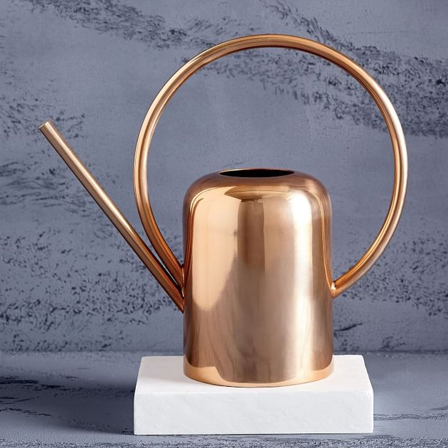 west elm modern copper water can