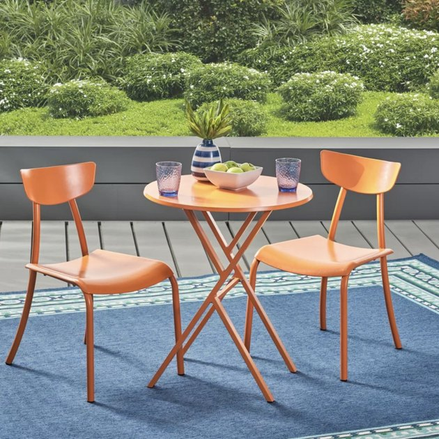 Turn On The Brights Alondra 3-Piece Iron Bistro Set