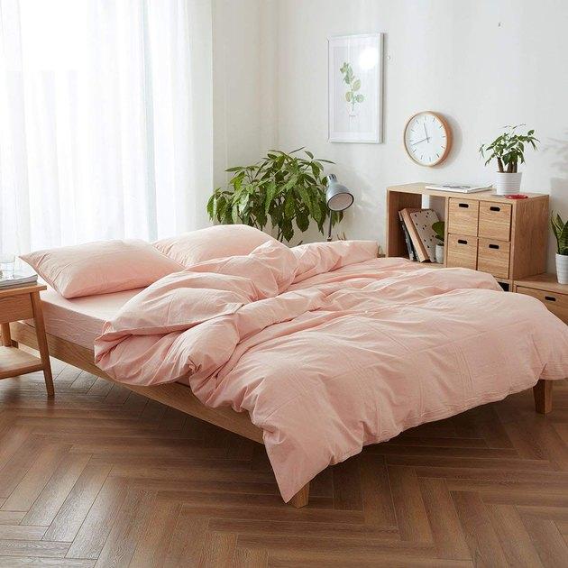 amazon orange bedding