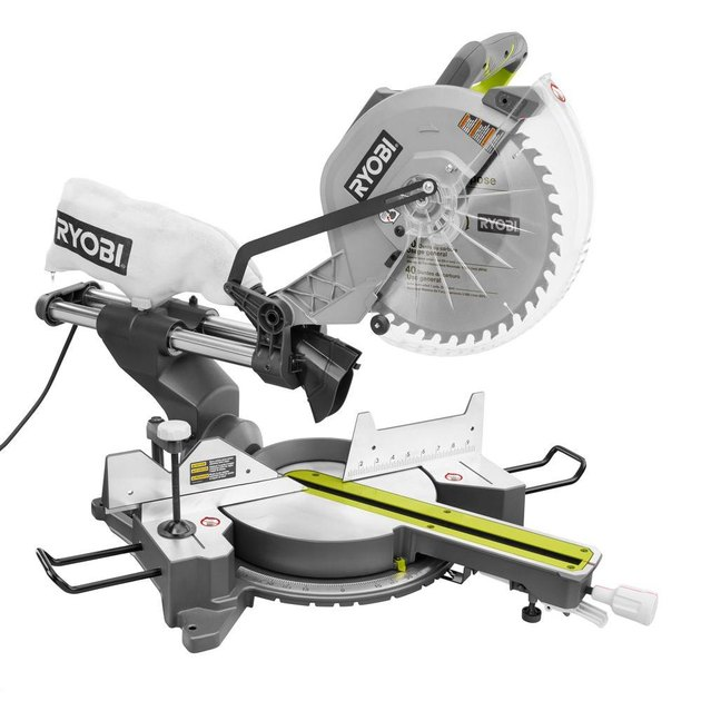 Sliding compound miter saw.