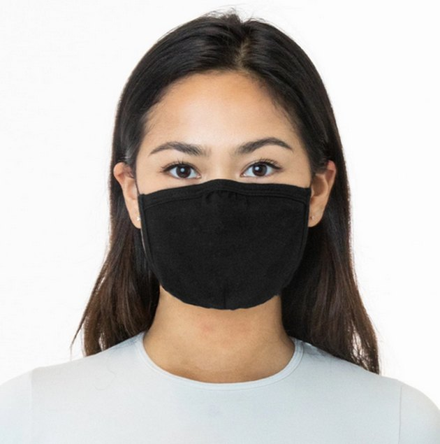 Face mask from Los Angeles Apparel