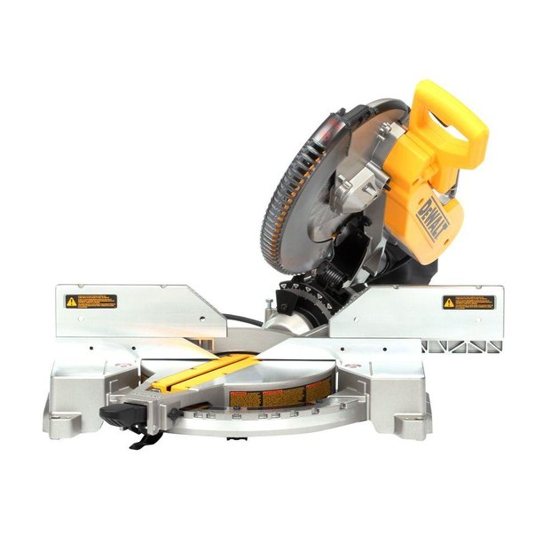 Compound miter saw.