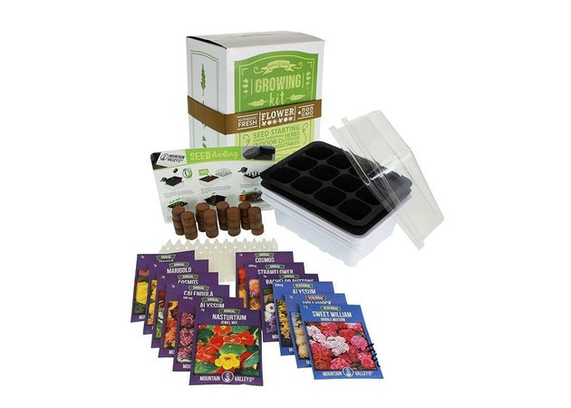 Mountain Valley Co. Flower Seed Kit