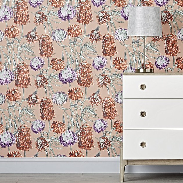 Hydrangea Removable Wallpaper