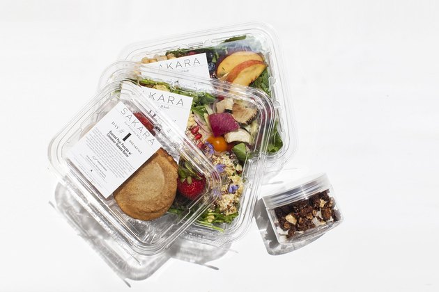 healthy pre-made meal delivery service
