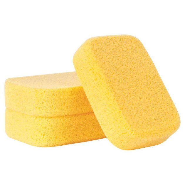 Grout sponges.