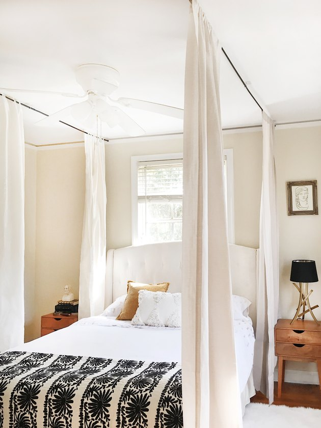 How To Hang A Canopy From The Ceiling Without Drilling
