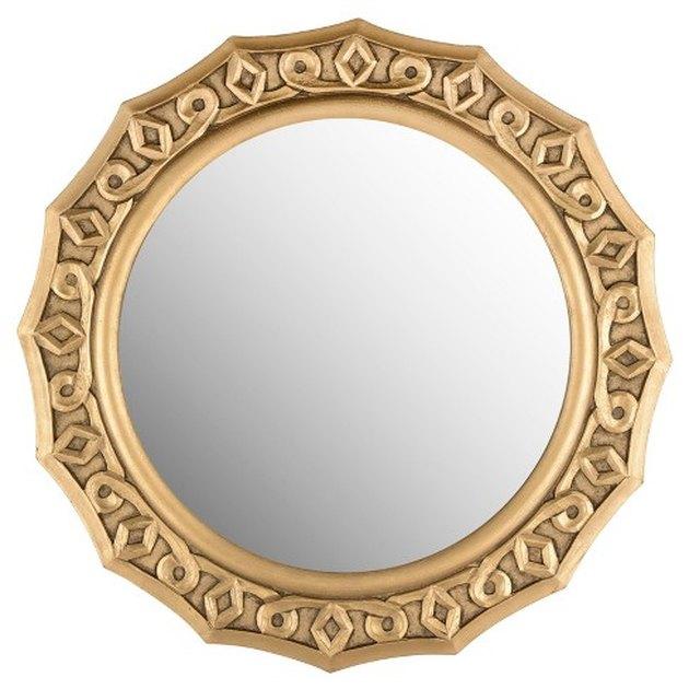 Safavieh Round Gossamer Lace Decorative Wall Mirror