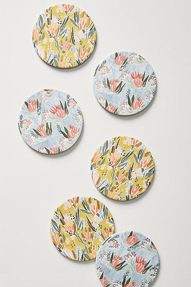 Anthropologie Seedlings Coasters, $16