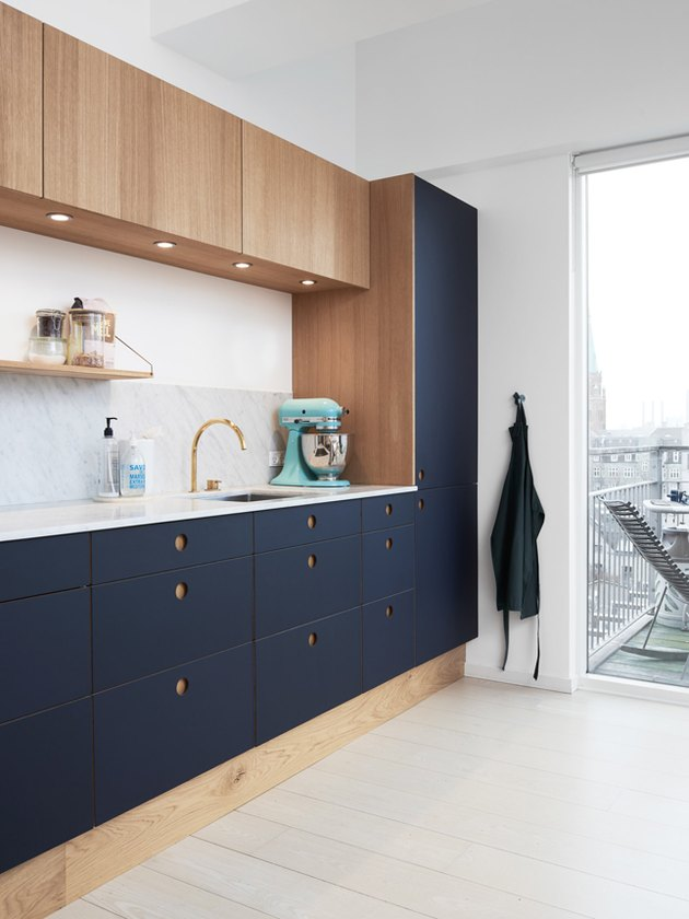 Ikea cabinets with Reform fronts