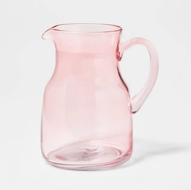 target threshold glass beverage pitcher