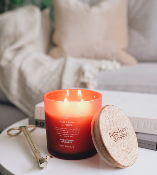 walmart better homes and gardens candle