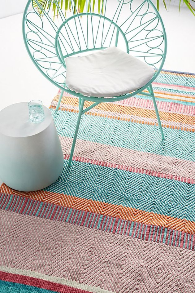 anthropologie outdoor rug