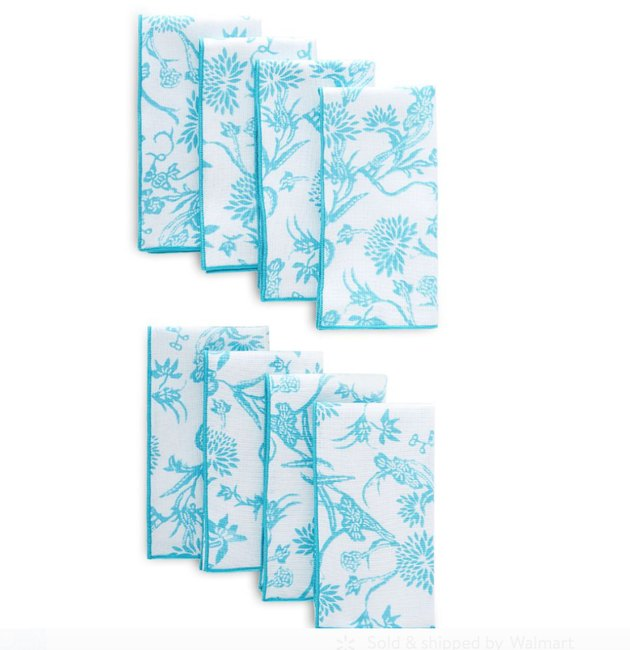 floral patterned napkins
