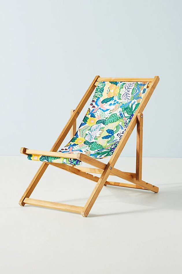 anthropologie marisella beach chair