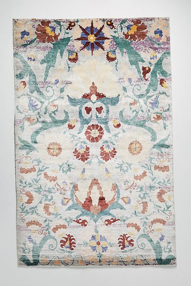 hand-knotted ingrid rug