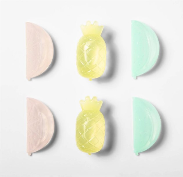 Reusable Plastic Fruit Ice Cubes by Sun Squad