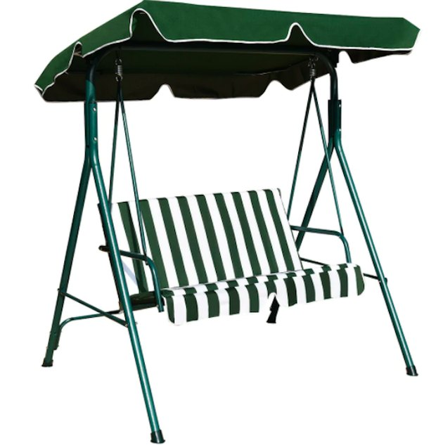 Costway Loveseat Patio Canopy Swing Glider, $183.59