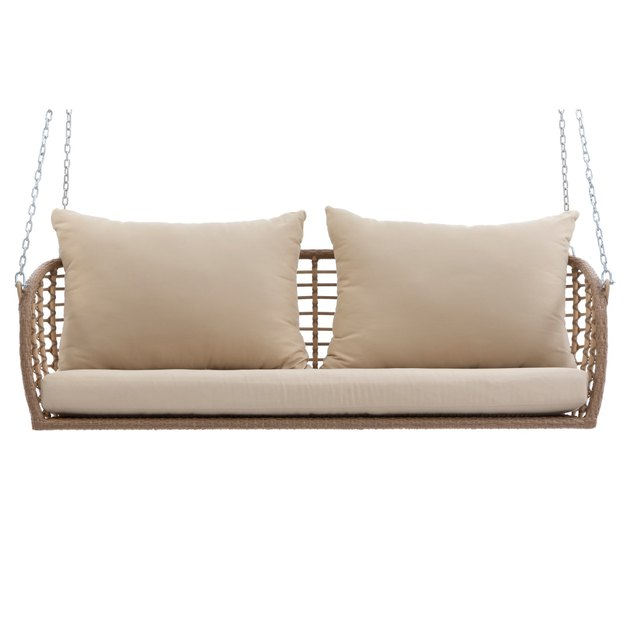Belham Living Bali All Weather Wicker Porch Swing, $949.99
