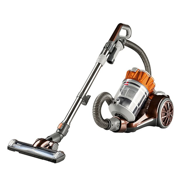 An image of a Bissell Hard Floor Multi-Cyclonic Bagless Canister Vacuum