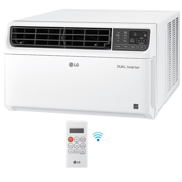 LG 14,000 BTU 115-Volt Dual Inverter Smart Window Air Conditioner