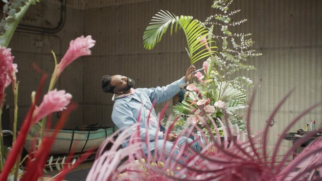 maurice harris with fauna and flowers
