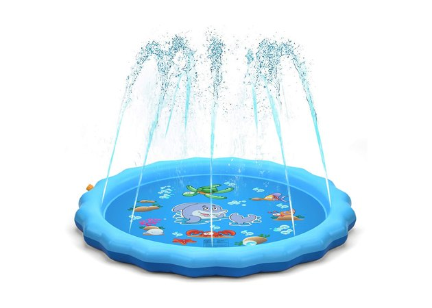 QPAU Sprinkle and Splash Play Mat