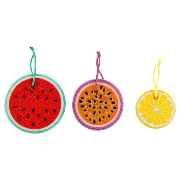 fruit sponges