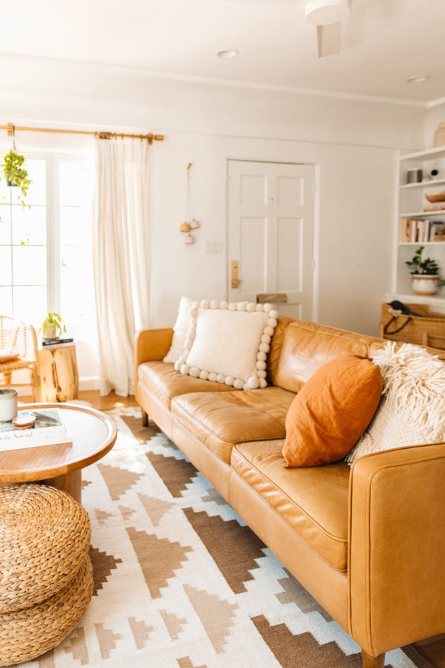 Track Arm traditional sofa style in bohemian living room