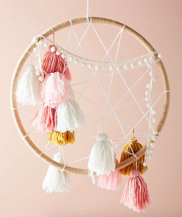 yarn dream catcher